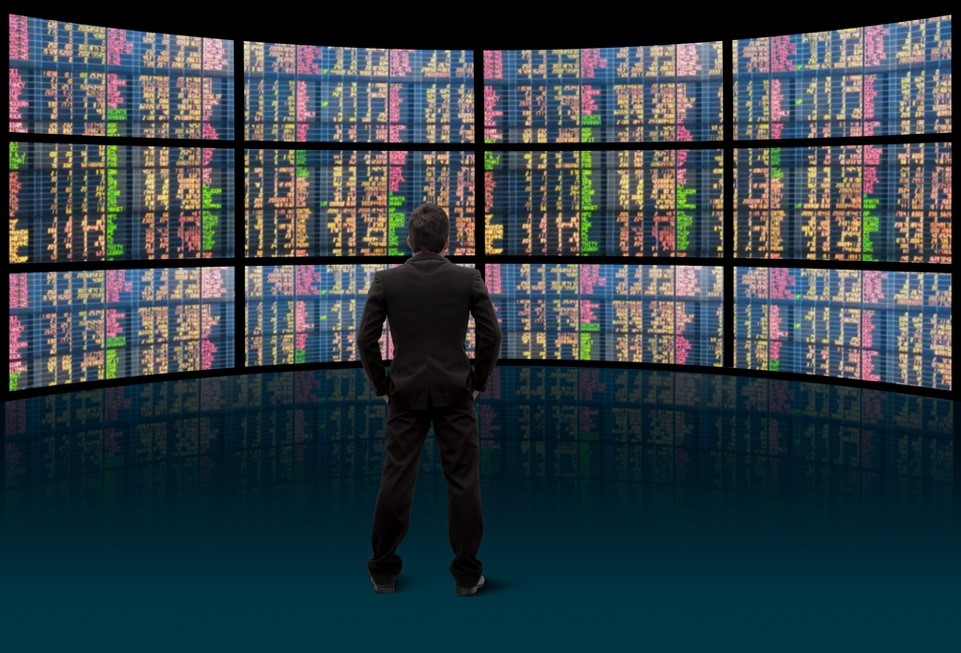 man picking stocks for day trading